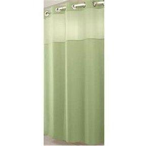 Yellow Stripe Shower Curtain 12