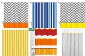 Yellow Stripe Shower Curtain - Ideas on Foter