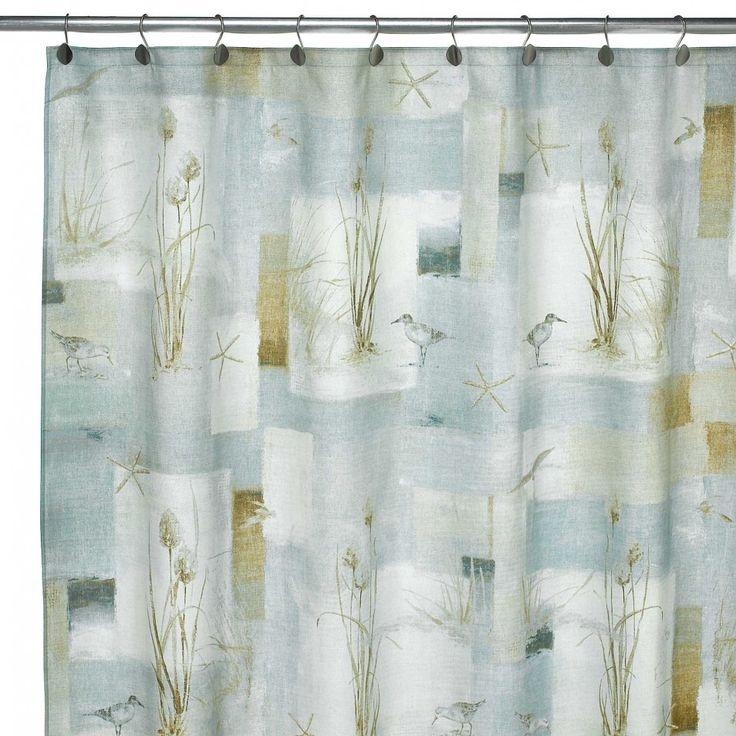 Beach Theme Shower Curtains 2