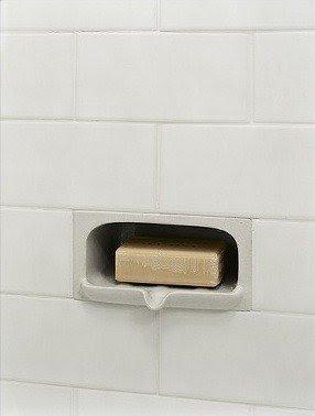 Charming Ceramic Shower Soap Dish