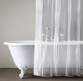 Clear Shower Curtain Liner Extra Long