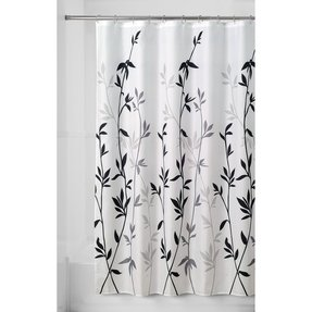 Essential Home Shower Curtain Classic Ivy Fabric Bed Bath