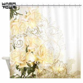 grey and aqua shower curtain. Grey white and yellow shower curtain Yellow Fabric Shower Curtain  Foter