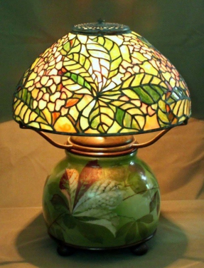 Hand painted glass lamp shades foter hand painted glass lamp shades 2 mozeypictures Choice Image