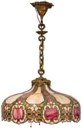 In a 26 inch duffner kimberly renaissance hanging dome lamp