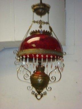 Oil Lamp Chandelier Foter