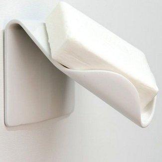 Recessed Ceramic Soap Dish For Shower