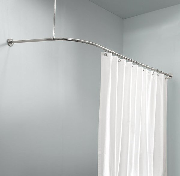 Round Shower Curtain Rods 2