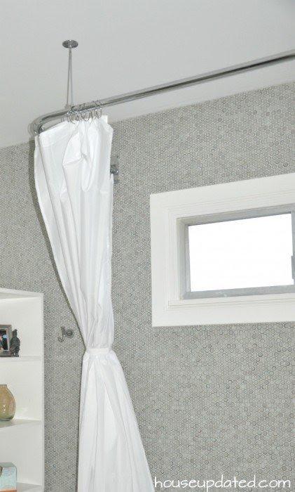 Shower Curtain Tie Backs Shower Curtain Tie Backs