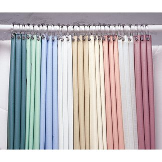 Shower stall curtains 54 x 78