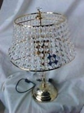 Swarovski crystal table lamp 4