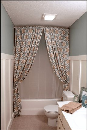 Using Shower Curtains As Window