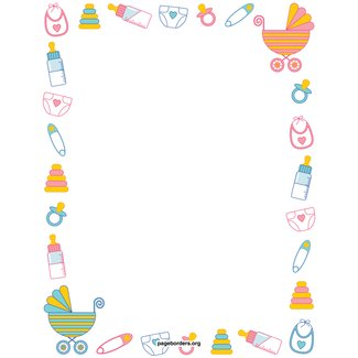 Baby Shower Border Paper Ideas On Foter