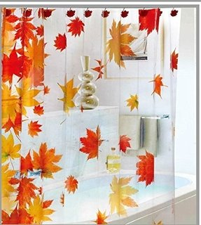 Falling Leaves Shower Curtain Foter