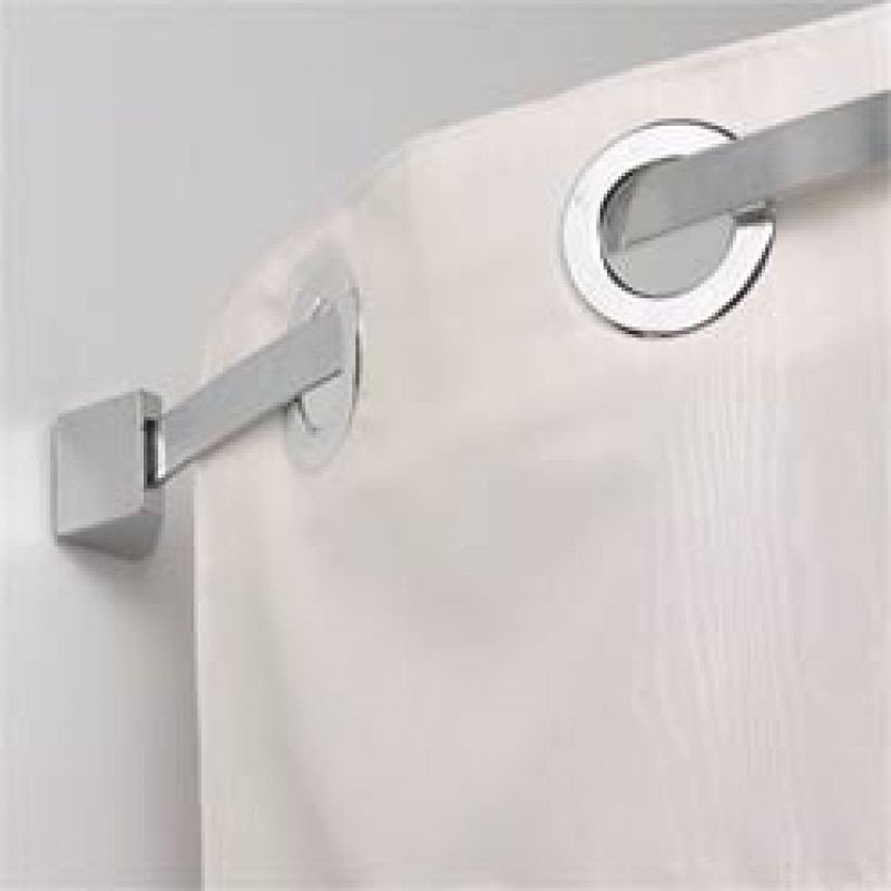 Flat Curved Shower Rod