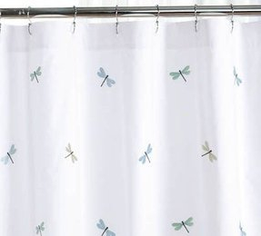 Dragonfly Shower Curtain Foter