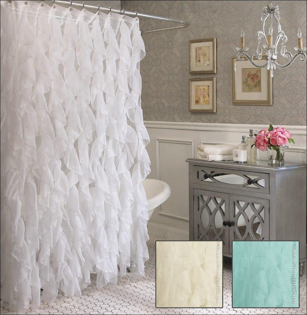 Lace Shower Curtains White Lace Shower Curtains And Published At