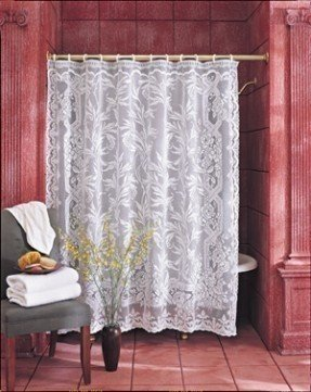 Valance Lace Shower Curtain Foter