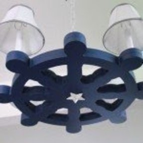 Ships wheel lamp foter other photos of ship wheel chandelier 1 aloadofball Images