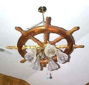 Ships wheel lamp foter ships wheel lamp 3 mozeypictures Gallery