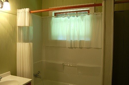 Bathroom Window Shower Curtains Ideas On Foter