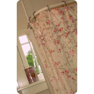 Simply shabby chic shower curtain 1