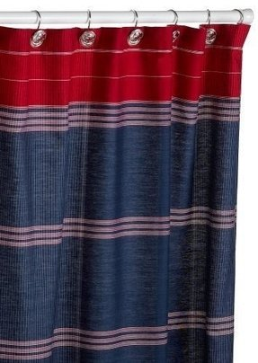 Tommy Hilfiger Bathroom Shower Curtain 1