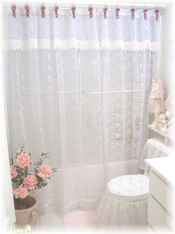 Charmant Victorian Shower Curtain This Romantic Victorian Shower Curtain