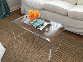 Acrylic Coffee Table 32 X 16 3 4 Premium Domestic Material
