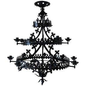 Gothic chandelier foter gothic chandelier 32 aloadofball Gallery