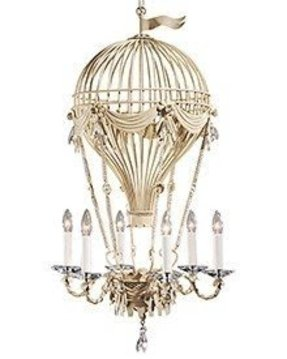 Antique white wrought iron chandelier foter antique white chandeliers aloadofball Gallery