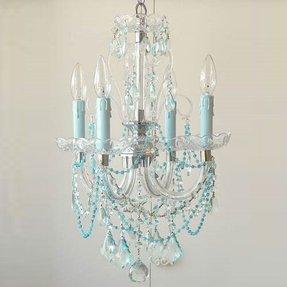 Aqua chandelier foter aqua chandelier 15 mozeypictures Gallery