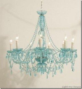 Aqua chandelier foter aqua chandelier 45 mozeypictures Gallery