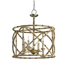 Bamboo chandelier foter bamboo chandelier 44 aloadofball Image collections