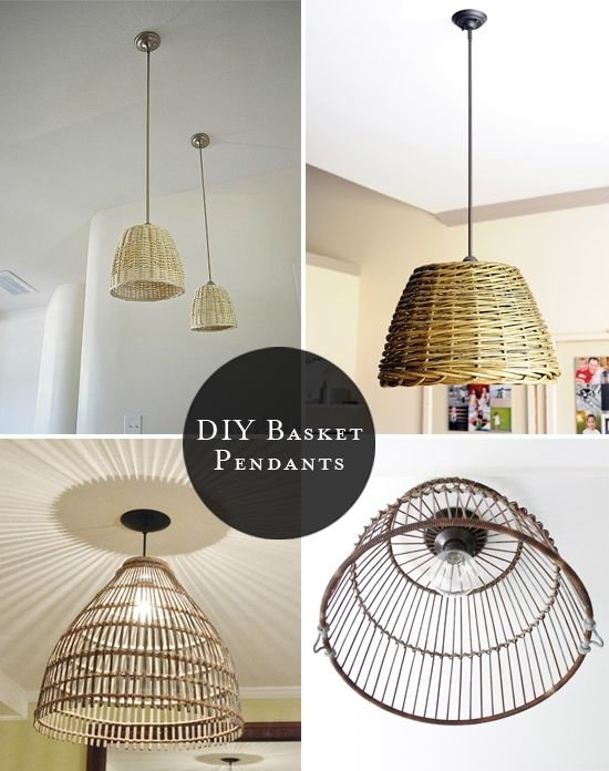 wire basket chandelier foter rh foter com Wire Dome Pendant Light Vintage Chicken Feeder Light Fixture