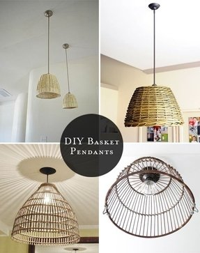 Wire Basket Chandelier Foter