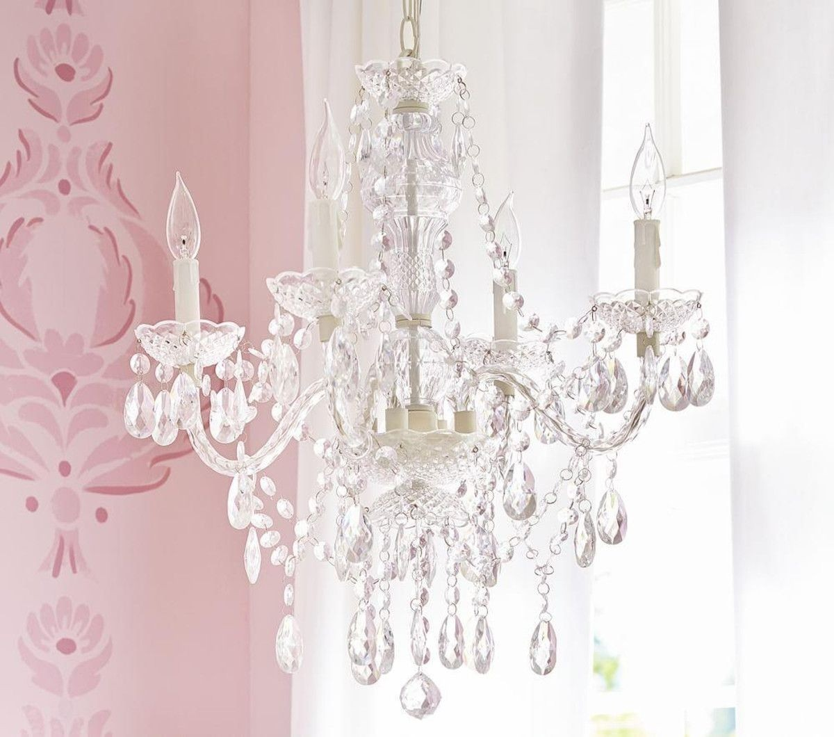 Ordinaire Chandelier Girls Room 2