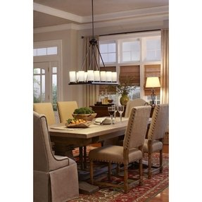 bay hampton small the depot lighting crystal chandelier chandeliers n home light at rubbed compressed bronze b oil