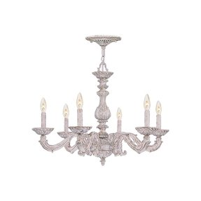 Antique white wrought iron chandelier foter chandelier shabby chic 1 mozeypictures Image collections