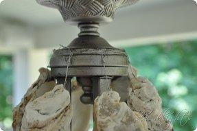Oyster shell chandelier foter diy oyster shell chandelier 3 aloadofball Images