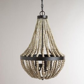 Oyster shell chandelier foter diy shell chandelier aloadofball Choice Image