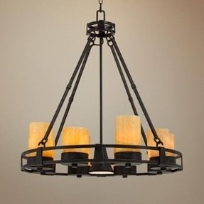 Faux candle chandelier foter faux candle chandelier 17 aloadofball Choice Image