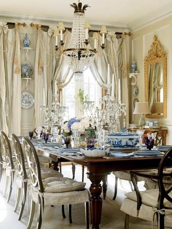 French Country Chandelier Shades 18