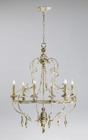 French country chandelier shades 5