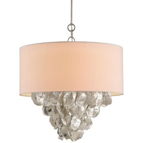 Oyster shell chandelier 36