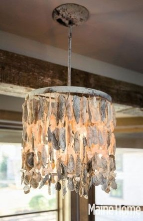 Oyster Shell Chandelier Ideas On Foter