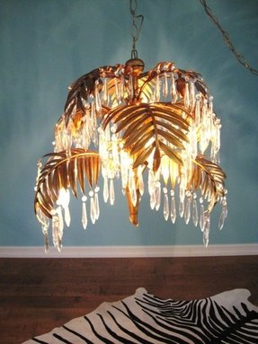 Palm tree chandelier 41