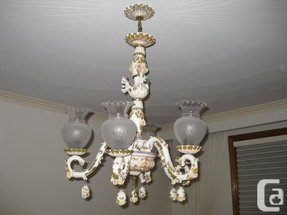 Palm tree chandelier 8