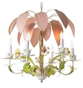 Palm tree chandelier 9