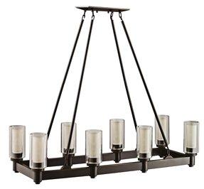 Rectangular candle chandelier foter rectangular candle chandelier 23 aloadofball Gallery